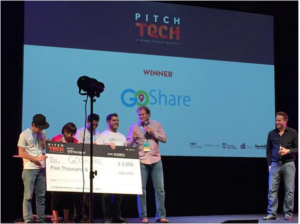 GoShare Wins PitchTech