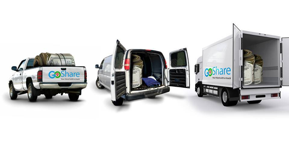 Earn more money with your truck or van using GoSHare