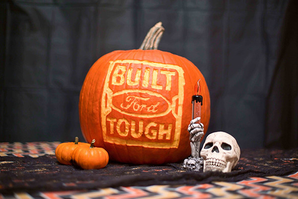 Built Ford Tough Pumpkin