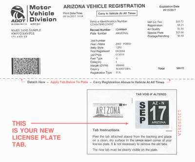 Vehicle Registration Example