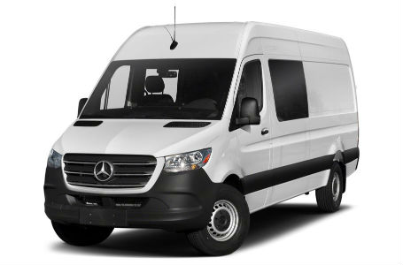2020 Mercedes Sprinter Van Cargo Van White