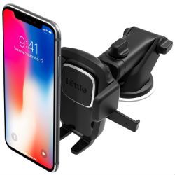 iOttie Dashboard Mounted Phone Holder on White Background