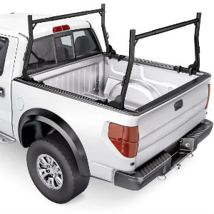 Lumber/Utility Rack on a White Truck