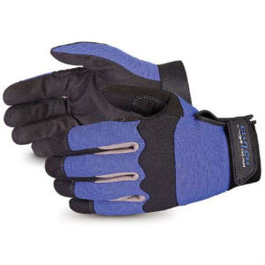 Superior Winter Work Gloves in Blue